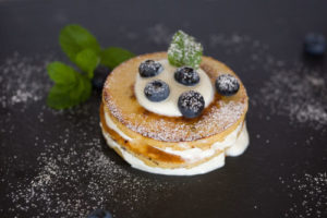 Superfood Heidelbeer Pfannkuchen